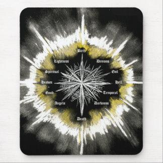 Geistiger Kompass Mousepad
