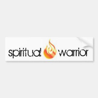 geistiger Krieger-Autoaufkleber