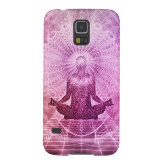 Geistiger Yoga-Meditations-Zen bunt Galaxy S5 Hülle
