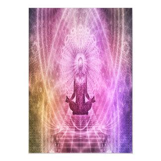 Geistiger Yoga-Meditations-Zen bunt Magnetische Karte