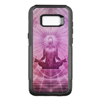 Geistiger Yoga-Meditations-Zen bunt OtterBox Commuter Samsung Galaxy S8+ Hülle