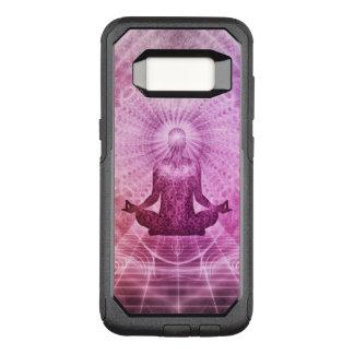 Geistiger Yoga-Meditations-Zen bunt OtterBox Commuter Samsung Galaxy S8 Hülle