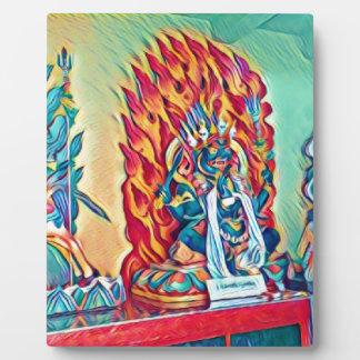 Geistiges Feuer Fotoplatte