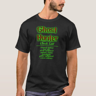 Geistjäger-Karo-Listen-Shirt T-Shirt