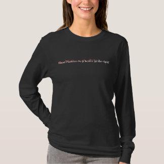 Geistjäger verbessert es im dunklen T-Stück T-Shirt