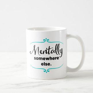 Geistlich anderswo kaffeetasse