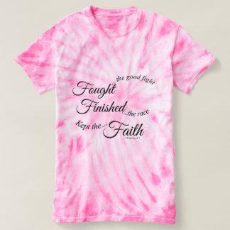 Gekämpfter fertiger behaltener Glauben-T - Shirt