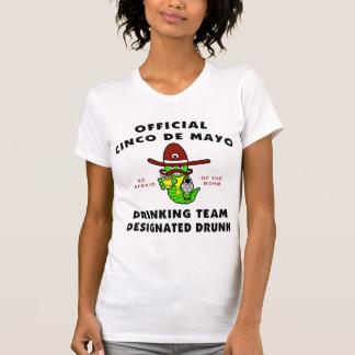 Gekennzeichnete betrunkene Damen Cinco Des Mayo T-Shirt