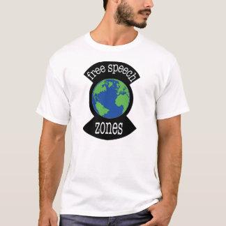 Gekennzeichnete Redefreiheit-Zone T-Shirt