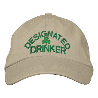 Gekennzeichnete Trinker-Kappe Bestickte Kappe
