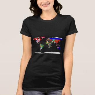 gekennzeichnete Welt T-Shirt