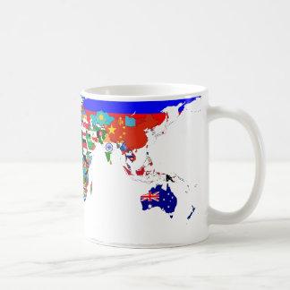 Gekennzeichnete WeltTasse Teetassen