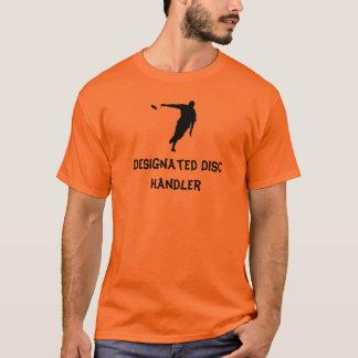 Gekennzeichneter Disc-Lenker T-Shirt