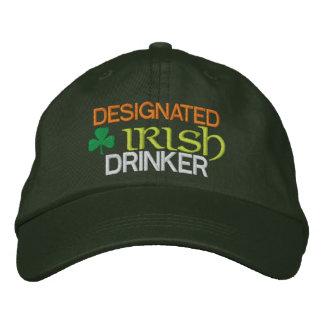 Gekennzeichneter irischer Trinker Bestickte Kappe