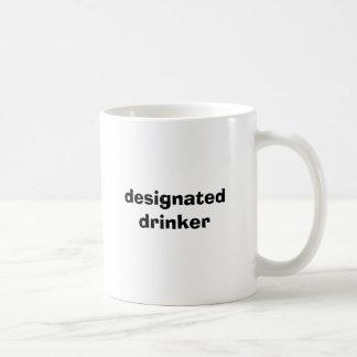 gekennzeichneter Trinker Kaffeetasse
