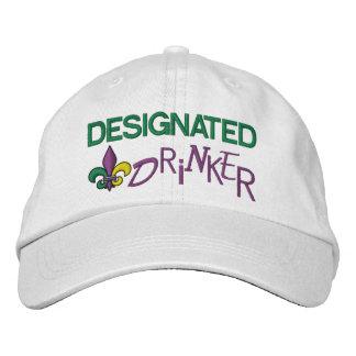 Gekennzeichneter Trinker - Karneval Bestickte Baseballkappe
