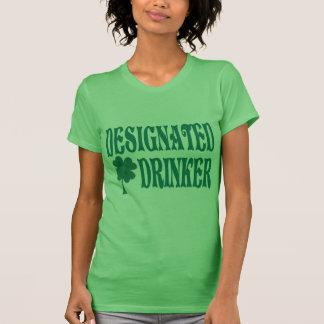 Gekennzeichneter Trinker-T - Shirt
