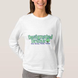 Gekennzeichnetes betrunkenes T-Shirt