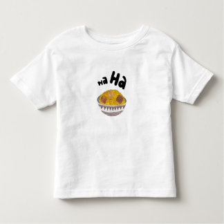 Gekicher blättert kein Hintergrund-Kleinkind-T - T Shirt