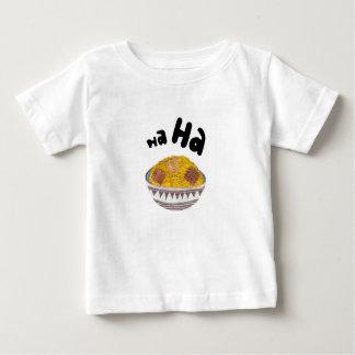 Gekicher blättert kein Hintergrund-Säuglings-T - T Shirts