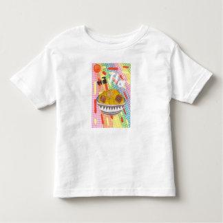 Gekicher blättert Kleinkind-T - Shirt ab