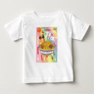 Gekicher-Flocken-Säuglings-T - Shirt
