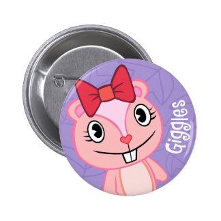 Gekicher-niedlicher Knopf Runder Button 5,1 Cm