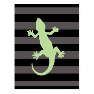 gekko postkarte