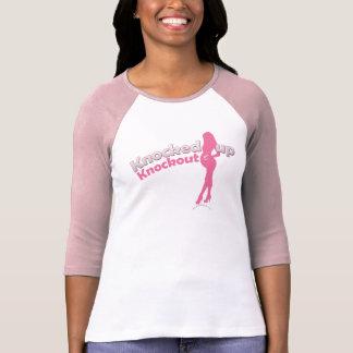 Geklopft herauf knockout Babyparty Mamma-zu- T-Shirt