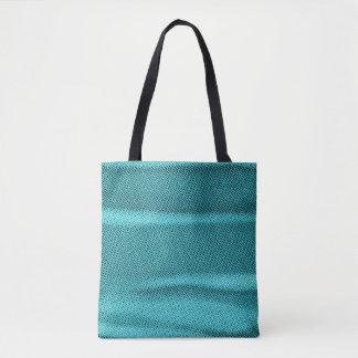geknitterte cyan-blaue blaue Tönung des Effektes Tasche