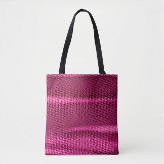 geknitterte lila Tönung des Effektes Tasche