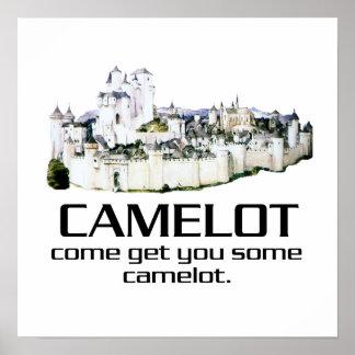 Gekommen erhalten Sie Ihnen irgendein Camelot Poster
