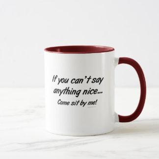 Gekommen sitzen Sie durch mich Tasse