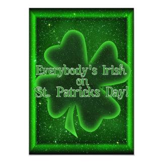 Gekommen unseres St Patrick Tageszum treffen! Karte