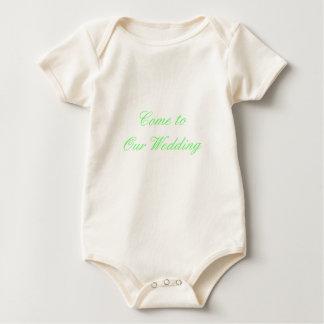 Gekommen zu unserem Hochzeits-Grün die MUSEUM Baby Strampler