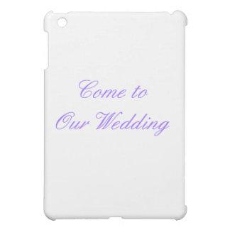 Gekommen zu unserer Hochzeit lila die MUSEUM Zazzl Hüllen Für iPad Mini