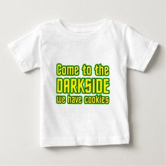 Gekommen zum Darkside haben wir Plätzchen Baby T-shirt