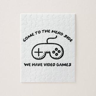 Gekommen zur Nerd-Seite, haben wir Videospiele Jigsaw Puzzles