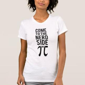 Gekommen zur Nerd-Seite T-Shirt