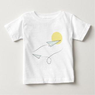 Gekommene Fliege mit mir Baby T-shirt