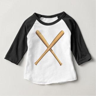 Gekreuzte Schläger Baby T-shirt