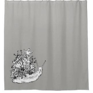 Gekritzel #1 duschvorhang