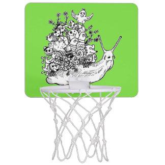 Gekritzel #1 mini basketball ring