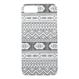 Gekritzel-Art Stammes- iPhone Fall iPhone 8/7 Hülle