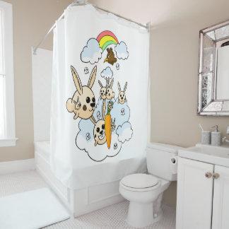 Gekritzel Duschvorhang