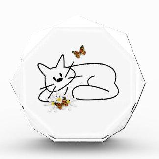 Gekritzel-Katzen-Spaß Auszeichnung