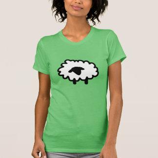 Gekritzel-Schafe T-Shirt