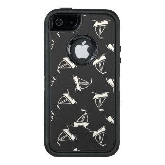 Gekritzel-Segelboot-Muster OtterBox iPhone 5/5s/SE Hülle