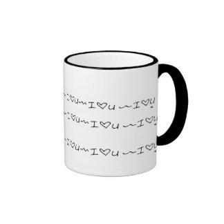 Gekritzel-Tassen Ringer Tasse