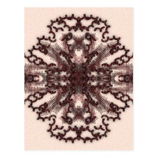 Gekritzeltätowierung 02 postkarten
